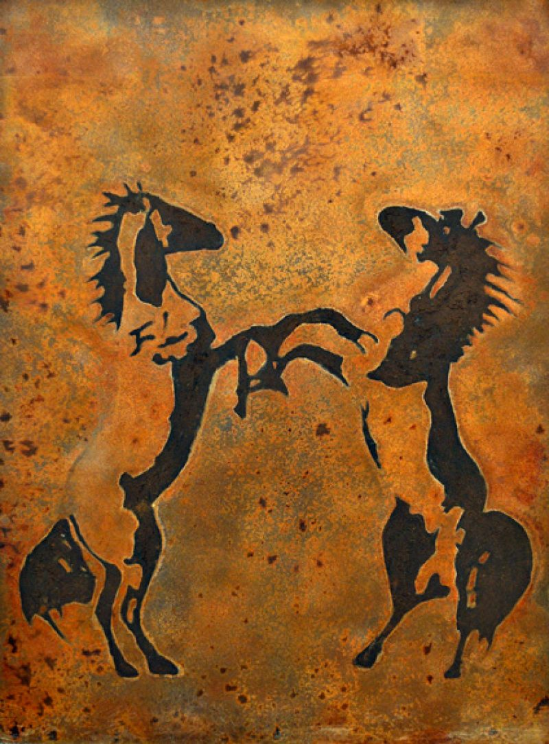 Horses Stand by Fairuza Balk